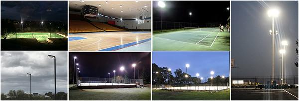 LED高杆灯专门设计用于体育照明