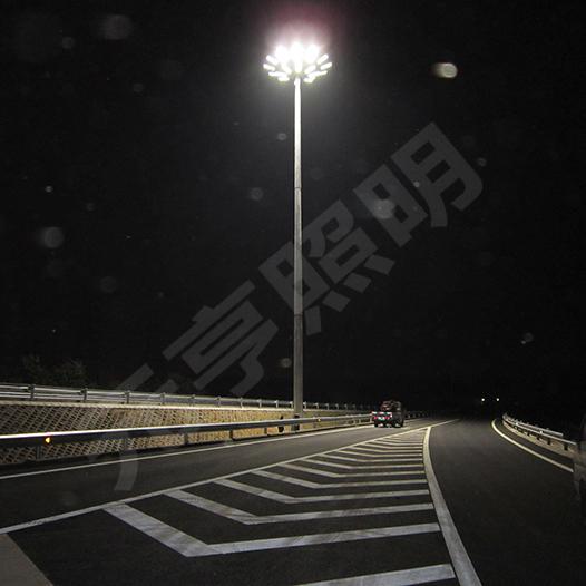 京包高速LED高杆灯照明项目