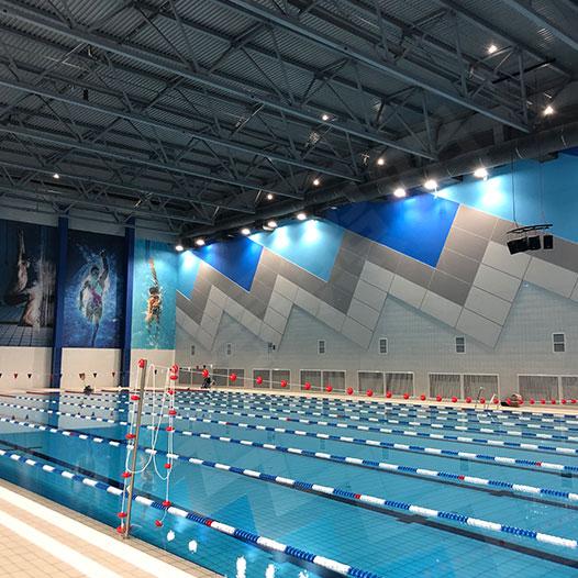 俄罗斯游泳馆照明项目