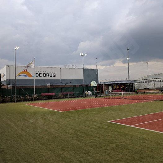 荷兰网球场照明项目